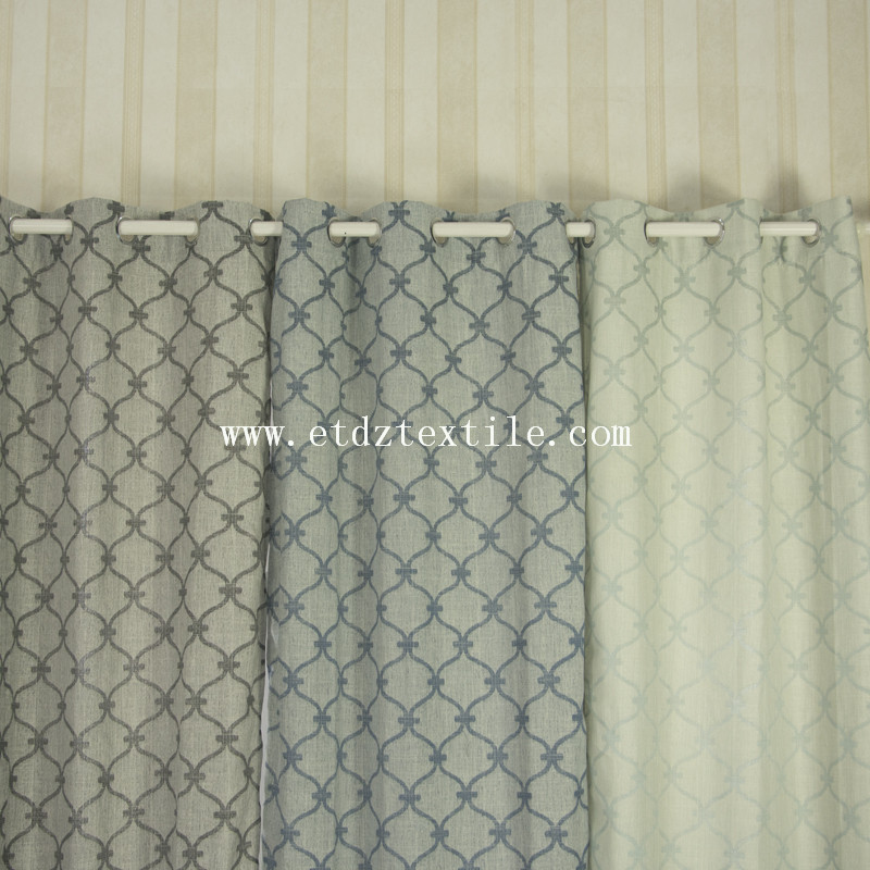 window panel linen curtain 6025