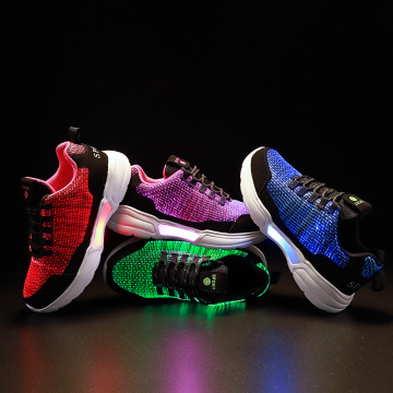 Fashion Rechargeable Fiber Optic Shoes