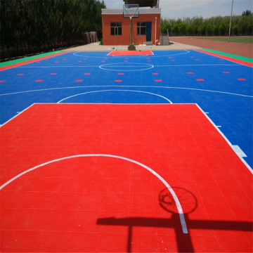 Basketball Court Playing Flooring Outdoor Sports