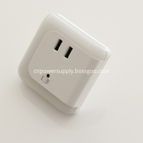 LED Night Lamp USB Charger