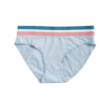 Second Hand Female Striated All-cotton Cute Underpants