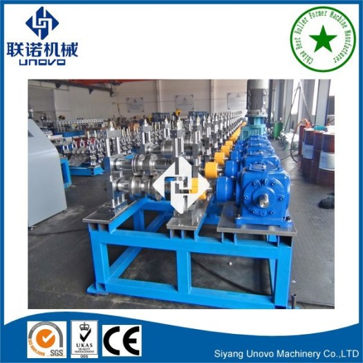 strut slotted channel roll forming machine