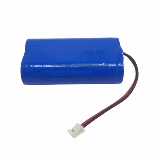 18650 2S1P 7.4V 2400mAh Lithium Ion Battery Pack