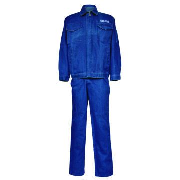 Flame Resistant  FR Denim Jacket Worker Protection