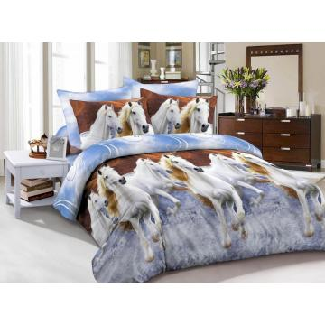 Microfiber 3D Print Animal Duvet Cover Set