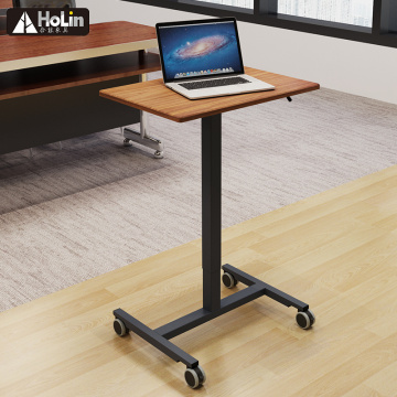 Movable Sit to Stand work station desk