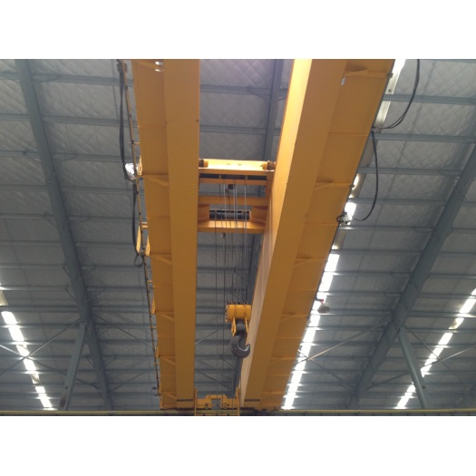 Magnetic overhead crane 50 ton price for sale