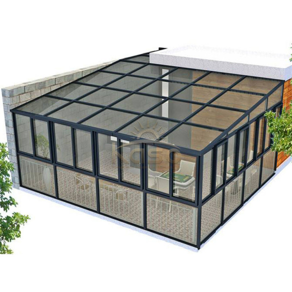 Agricultural Glass House 8X8 Sunroom Aluminium Conservatory