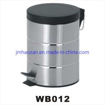 Stainless Steel Pedal Waste Bin, Dustbin