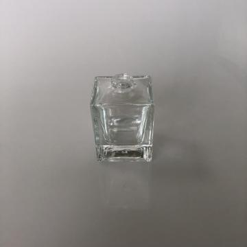 Oblong glass bottle for fragrance
