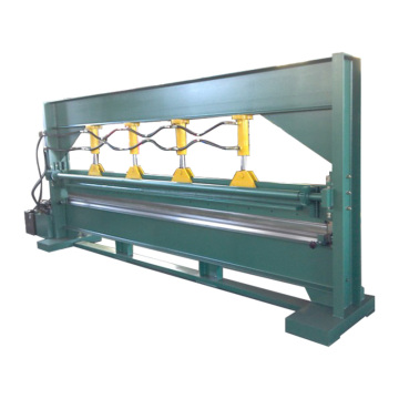 Low cost 4m hydraulic aluminum channel letter bending machine