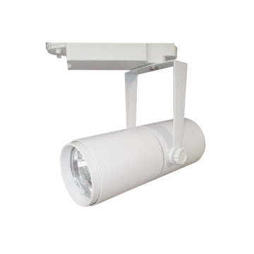 Aluminum COB White 25W LED Track Light