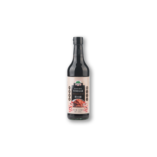 500ml Glass Bottle Black Rice Vinegar