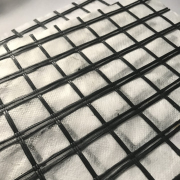 Fiberglass Geogrid Self Adhesive PP Nonwoven Geotextile