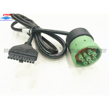 J1939M Type II To molex 43025-10PIN