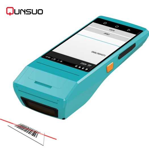 Android PDA QR code scanner with thermal printer