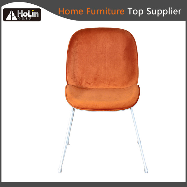 Fabric Upholstered PP Back Hotel Restaurant Leisure Chair