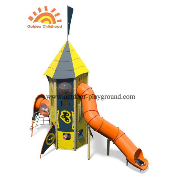 HPL Outdoor Activity Tower Playground Equipment