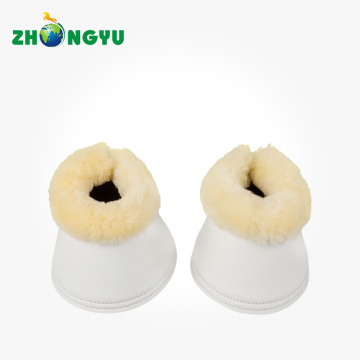 Natural Sheepskin Bell Boots Synthetic Soft Neoprene