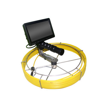 20M Cable Underground Sewer Visual Camera System