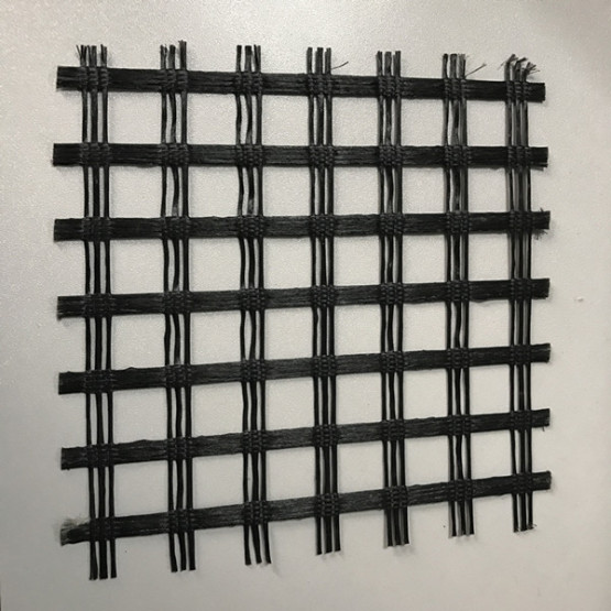 Polyester Uniaxial Geogrid For Retaining Wall