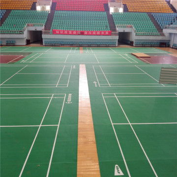 PVC Sport Floors for Badminton Court