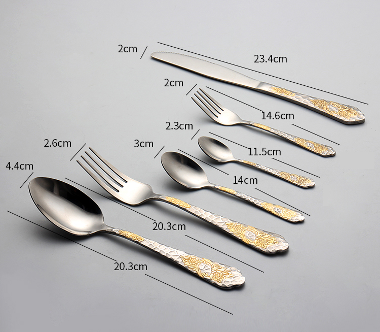Classical stainless steel cutlery set