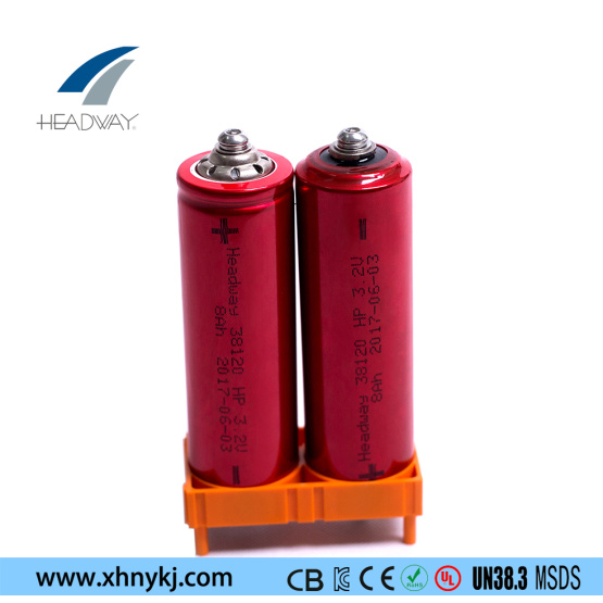 Rechargeable LiFePO4 Battery HW38120HP-8Ah For E-Wheelchair