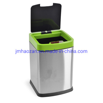 9L Square Automatic Sensor Dustbin