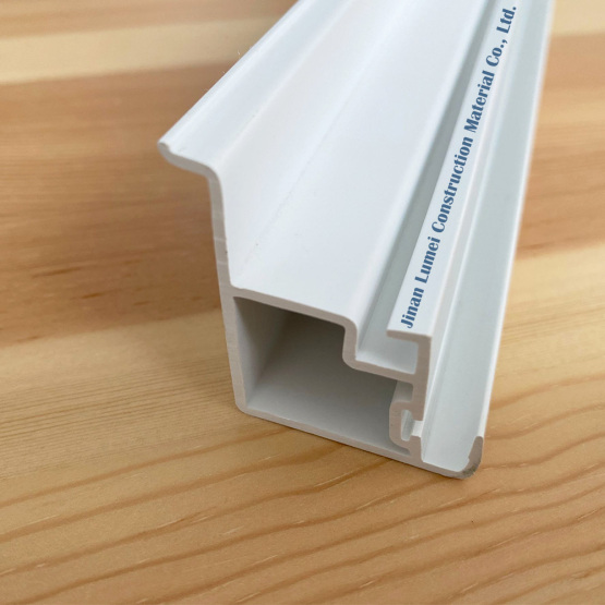 Blue White PVC Profile for Plastic Window