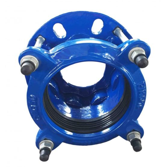 Wide tollerance cast flange adaptor