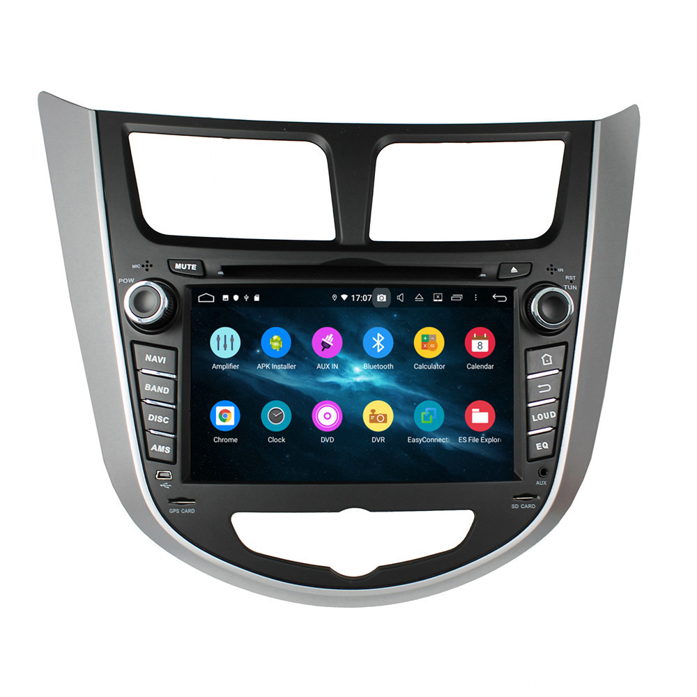 car head unit for Verna