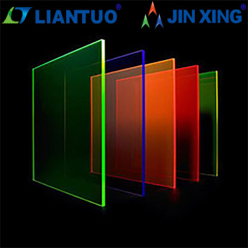 transparent plastic glass sheet