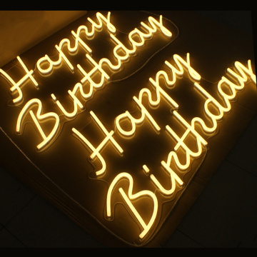 BIRTHDAY BOARD LED NEON LETTERS