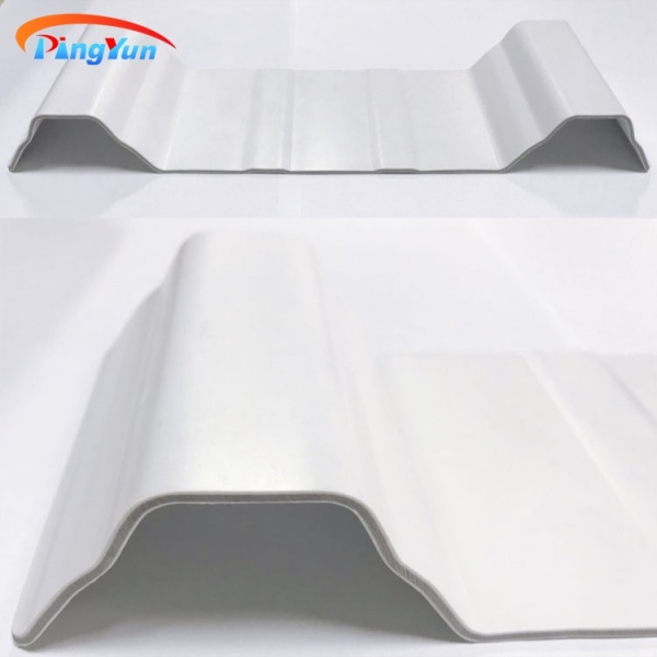 anti-corrosion techo plastic roof tile PVC roof sheet