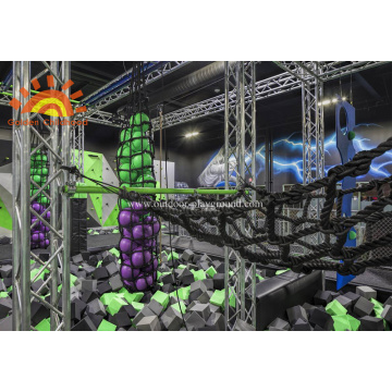Indoor Ninja Warrior Gym Park For Children