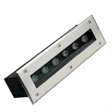 Linear Black 6W LED Inground Light