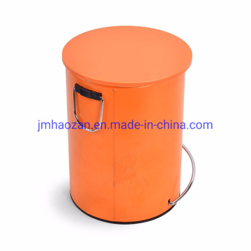 Stainless Steel Pedal Trash Bin, Dustbin with Lid