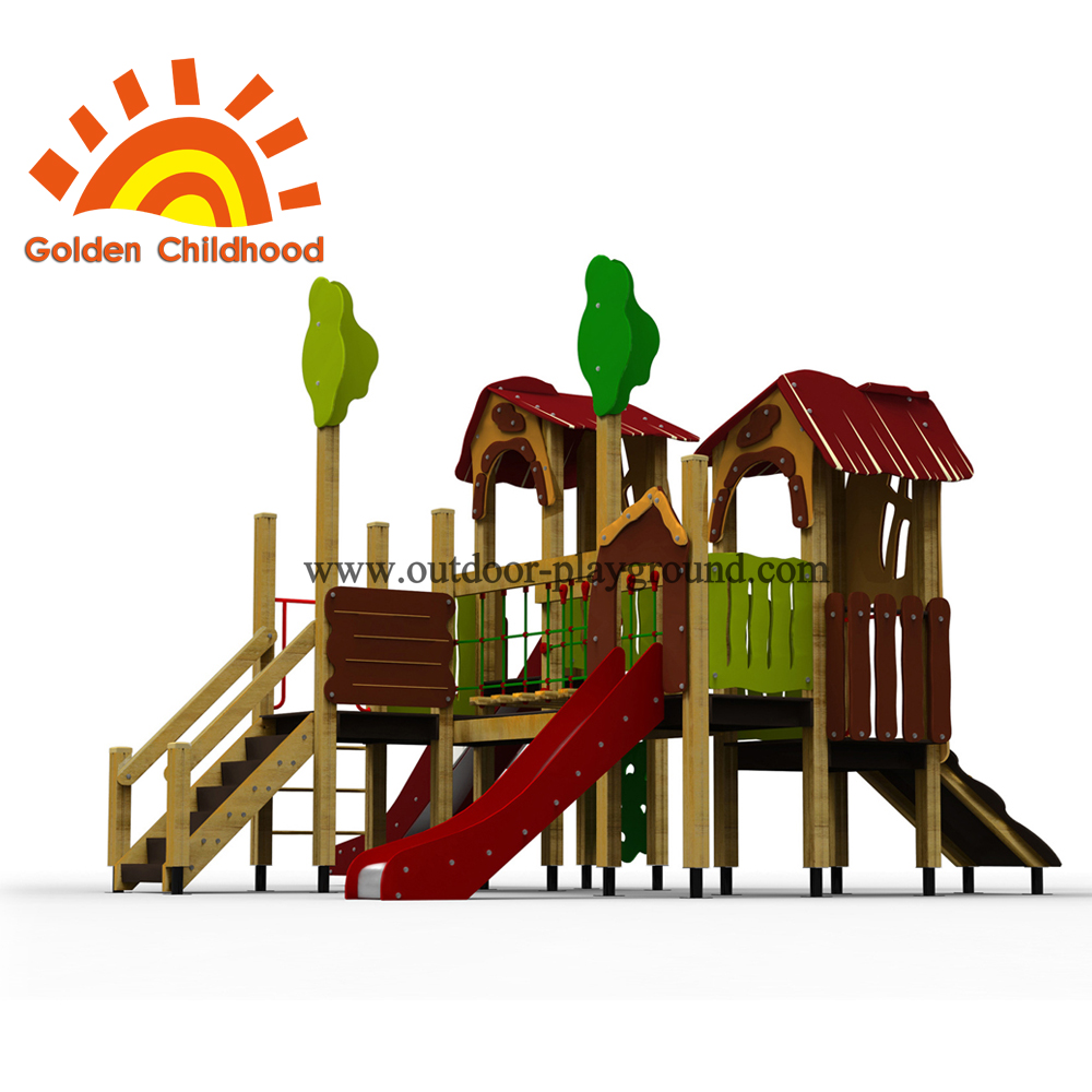 Jungle Fairy Outdoor Playground Facility For Children