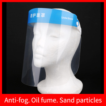 Reusable Safety Face Shield Full Face Protective Visor