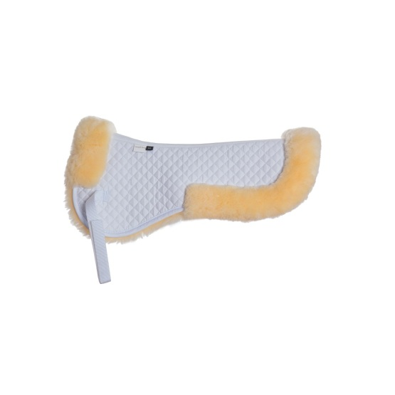 Horse equestrian sheepskin horse saddle pad wholesale