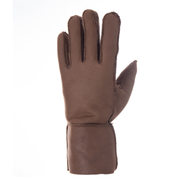 Fashion Sheepskin Fur Gloves with Real Lambskin