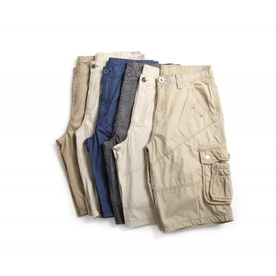 MEN'S WOVEN CARGO WASHED SHORTS