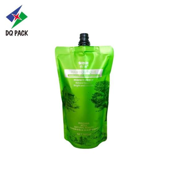 Plastic Stand up pouch with spout Packaging