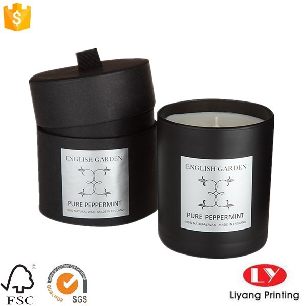 Fashion Customized cardboard candle gift box packaging