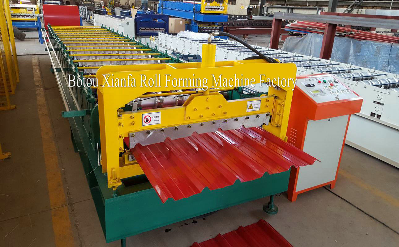 roof tile  ibr rolling machine