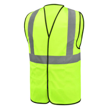 Green High Visibility Reflective Safety Vest