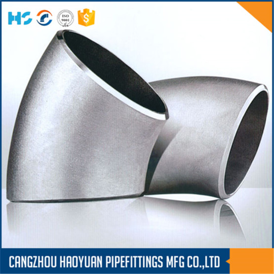ASTM A234WPB 45Degree Seamless Steel Fittings Elbow