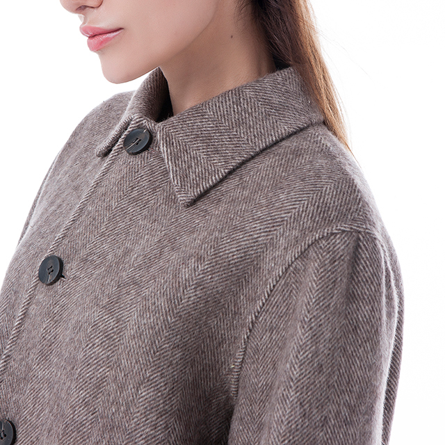 Camel coloured cashmere overcoat