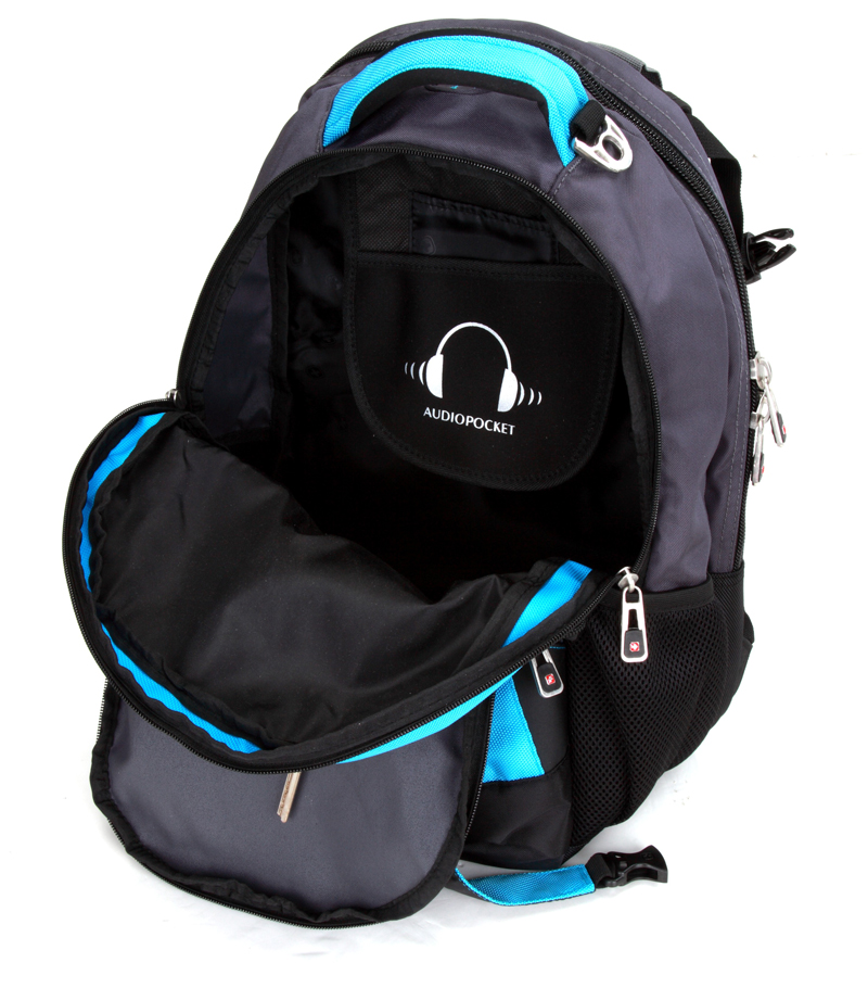 Excelent travel laptop backpack